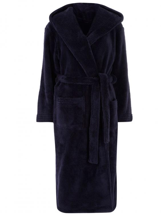 Enchanting Black Fluffy Dressing Gown Ornament - Best Evening Gown ...